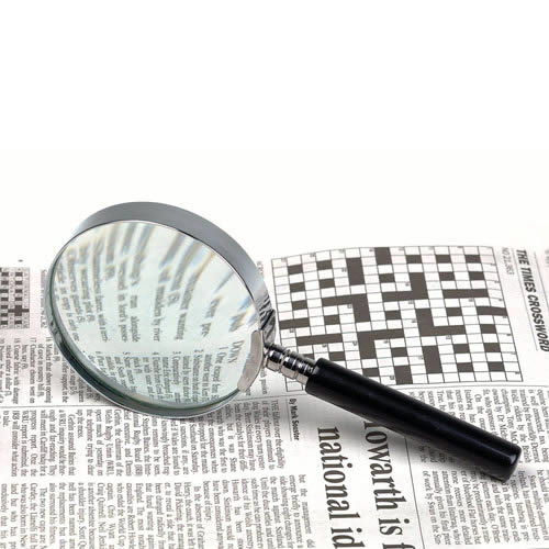 Classic Magnifier/Round Metal